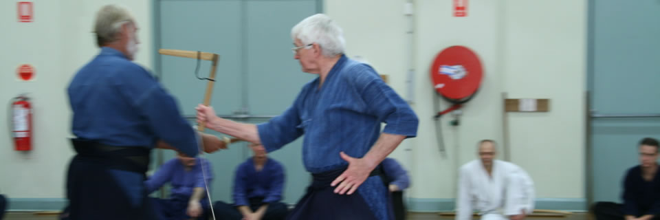 Kusarigama training in Sydney